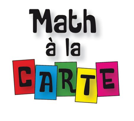 Math à la carte
