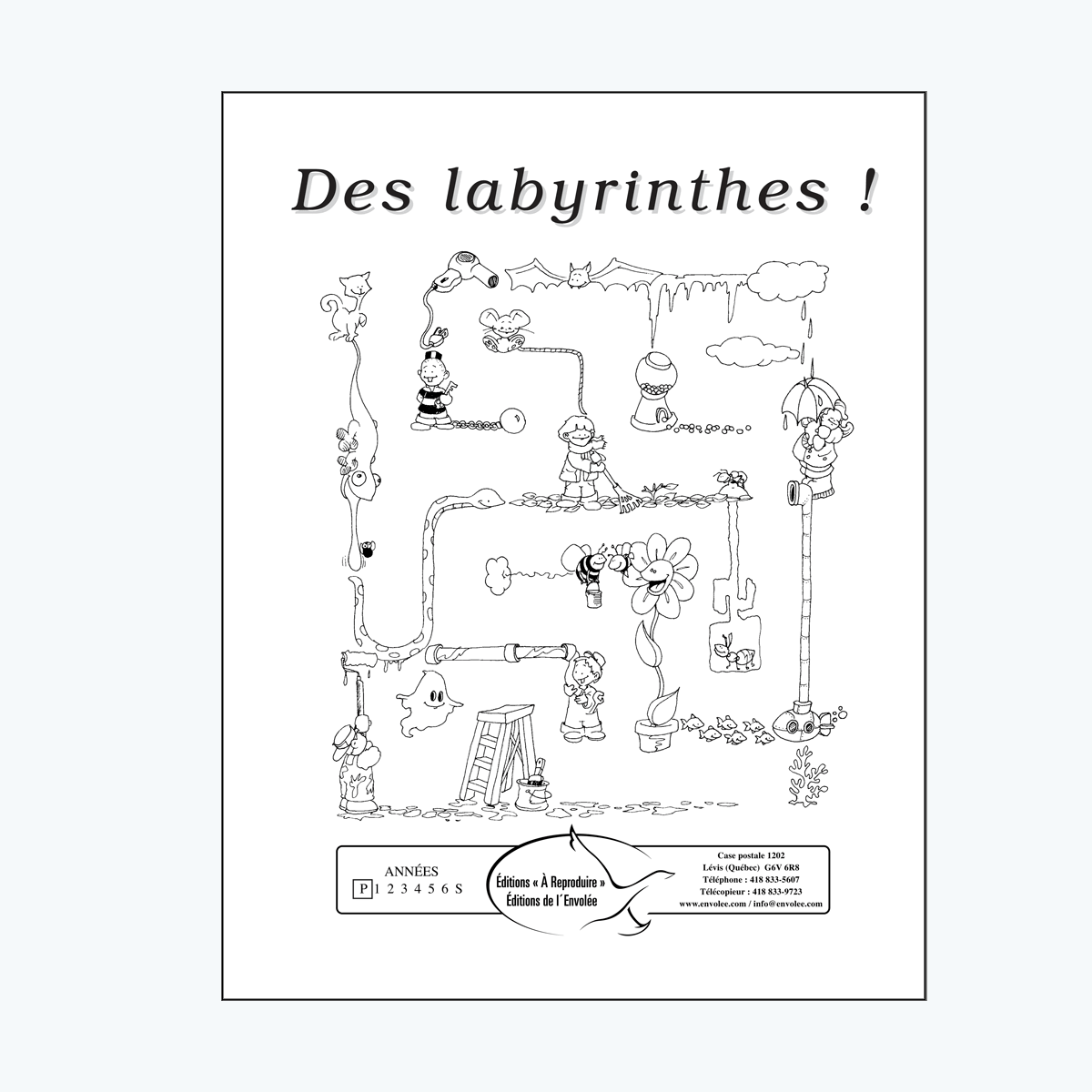 Des labyrinthes !
