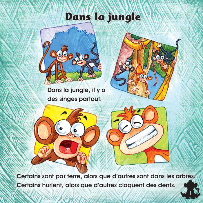 Specimens Les singes