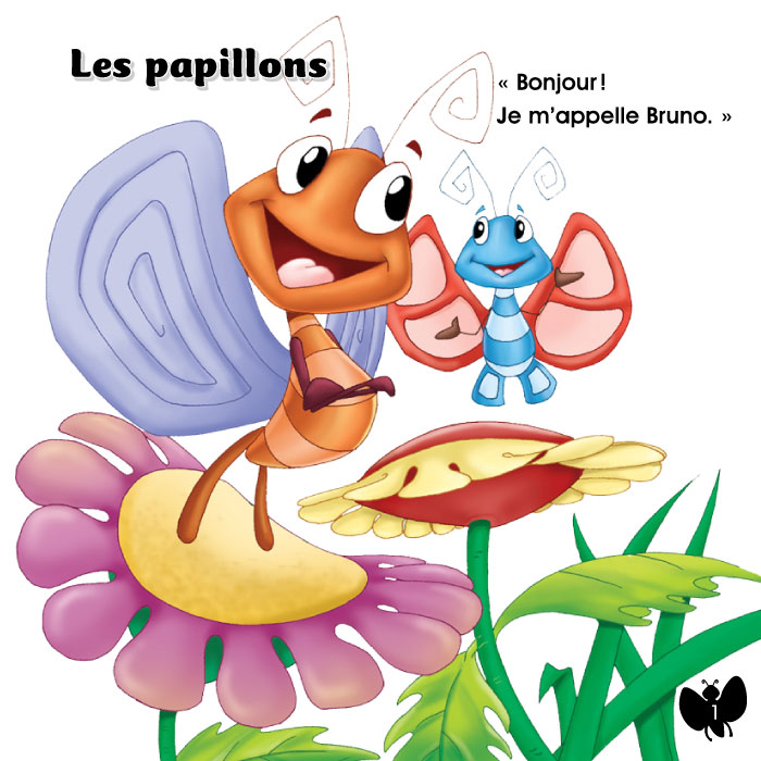 Specimens Les papillons