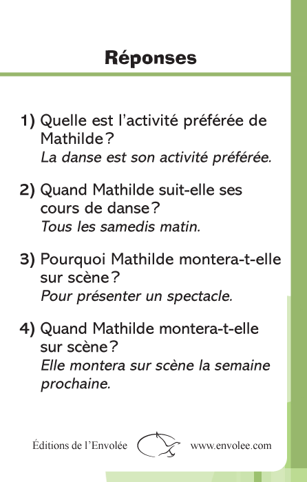 Specimens Lecture à la carte - Mots-questions 2