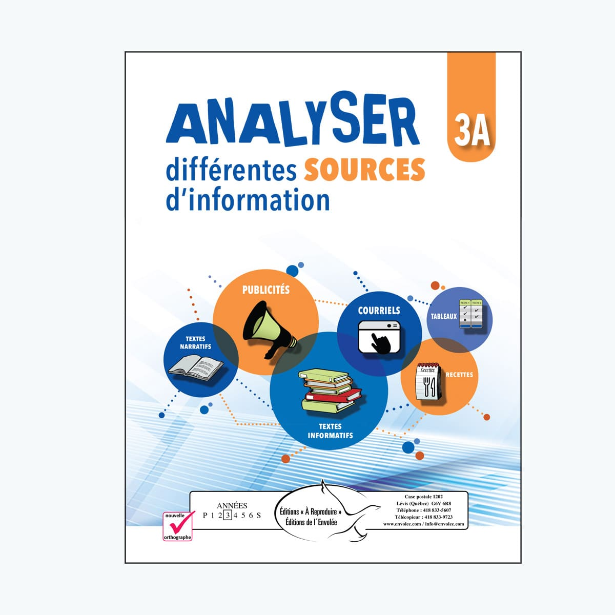 Analyser différentes sources d'information 3A