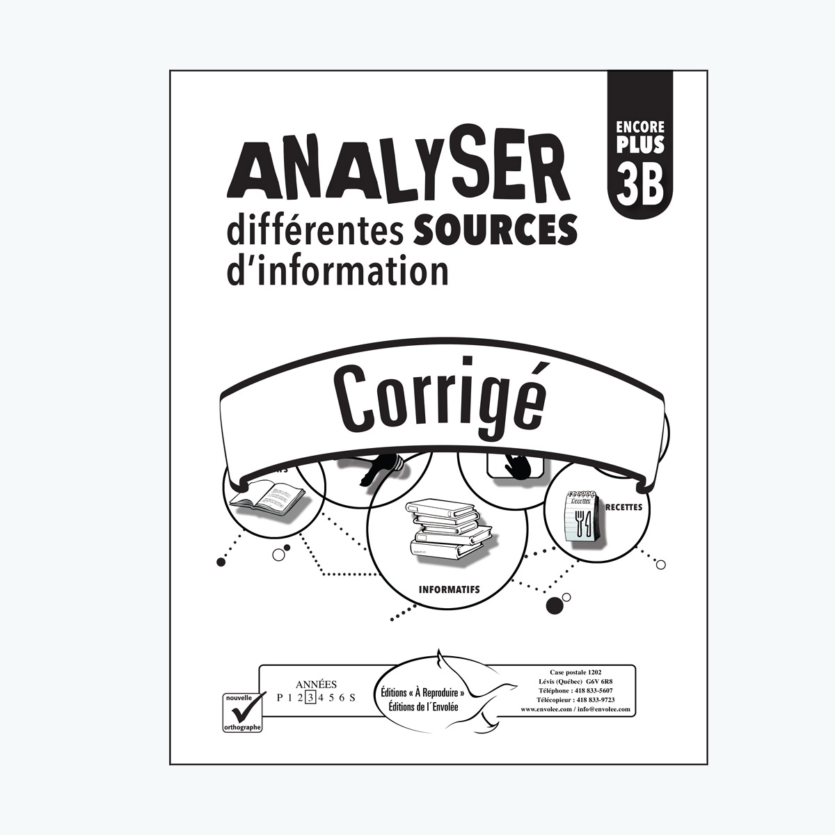 Analyser différentes sources d'information 3B