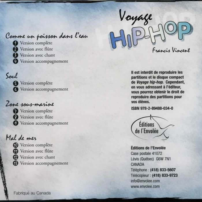 Specimens Voyage Hip-Hop