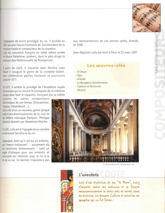 Specimens Les grands compositeurs 3 (Renaissance - Baroque)