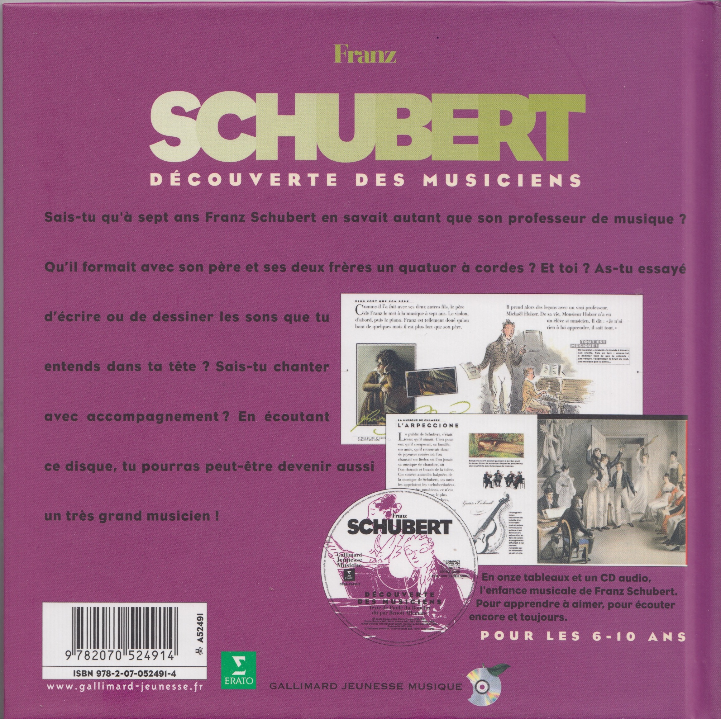 Specimens Franz Schubert