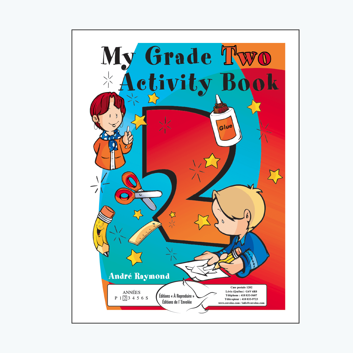 My Grade Two Activity Book