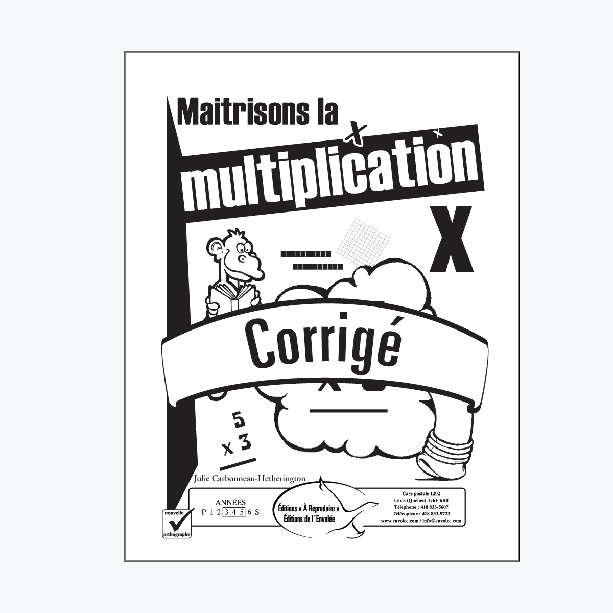 Maitrisons la multiplication - en PDF