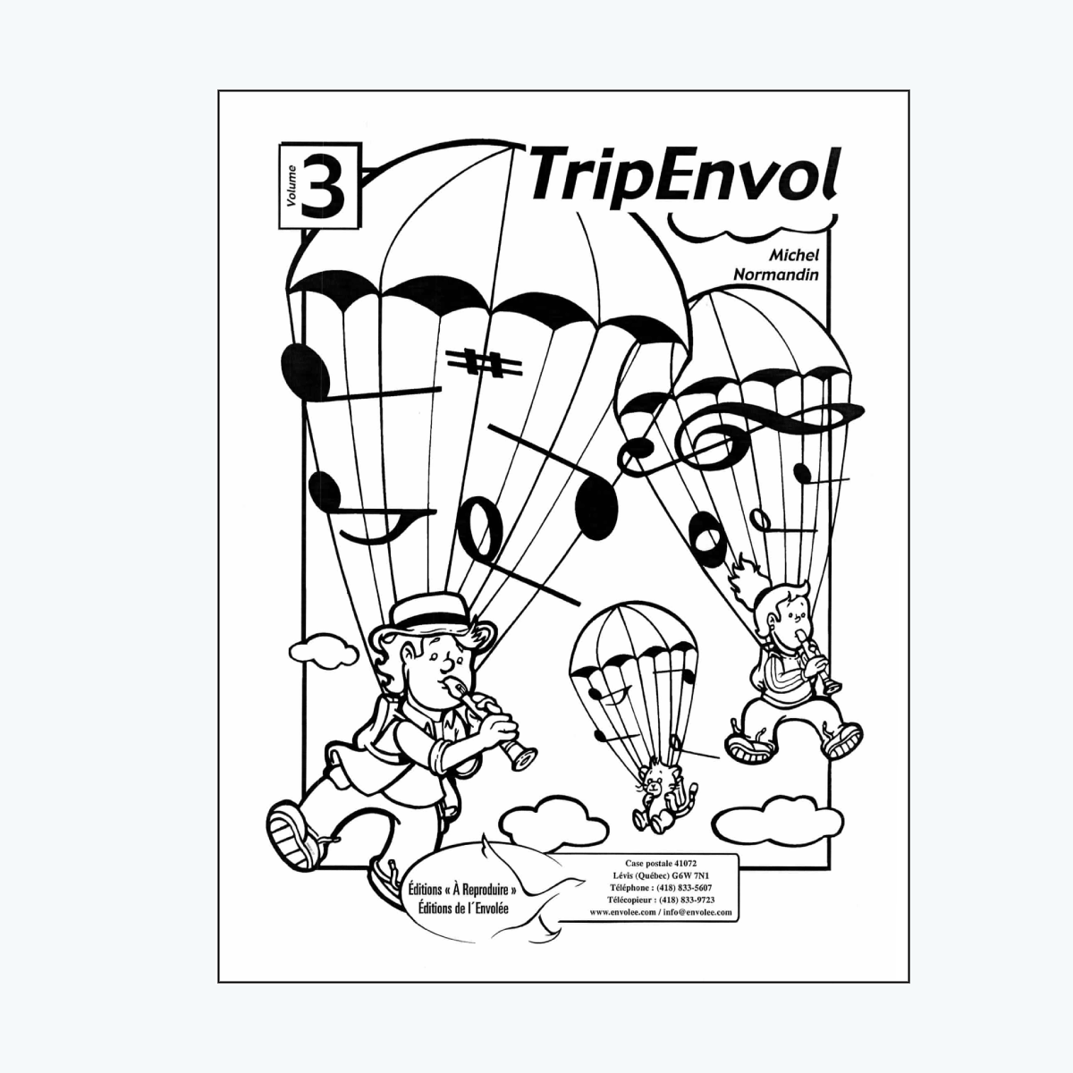 TripEnvol 1 and MP3