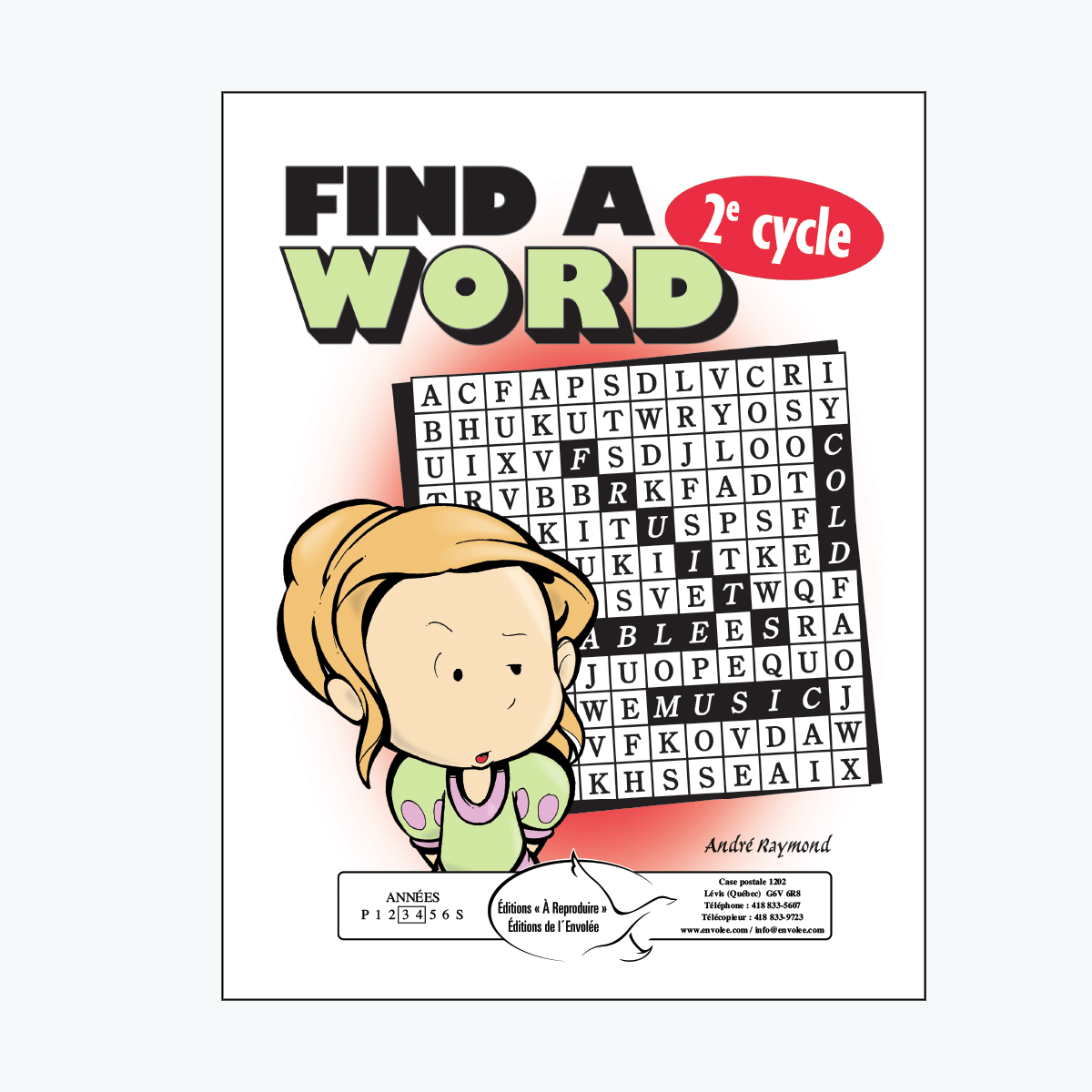 Find a Word, 2e cycle