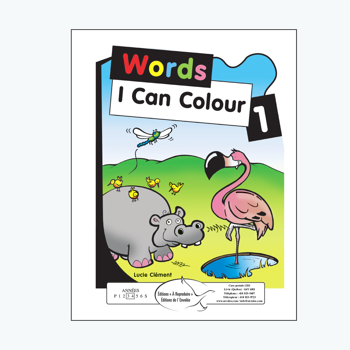 Words I Can Colour 1