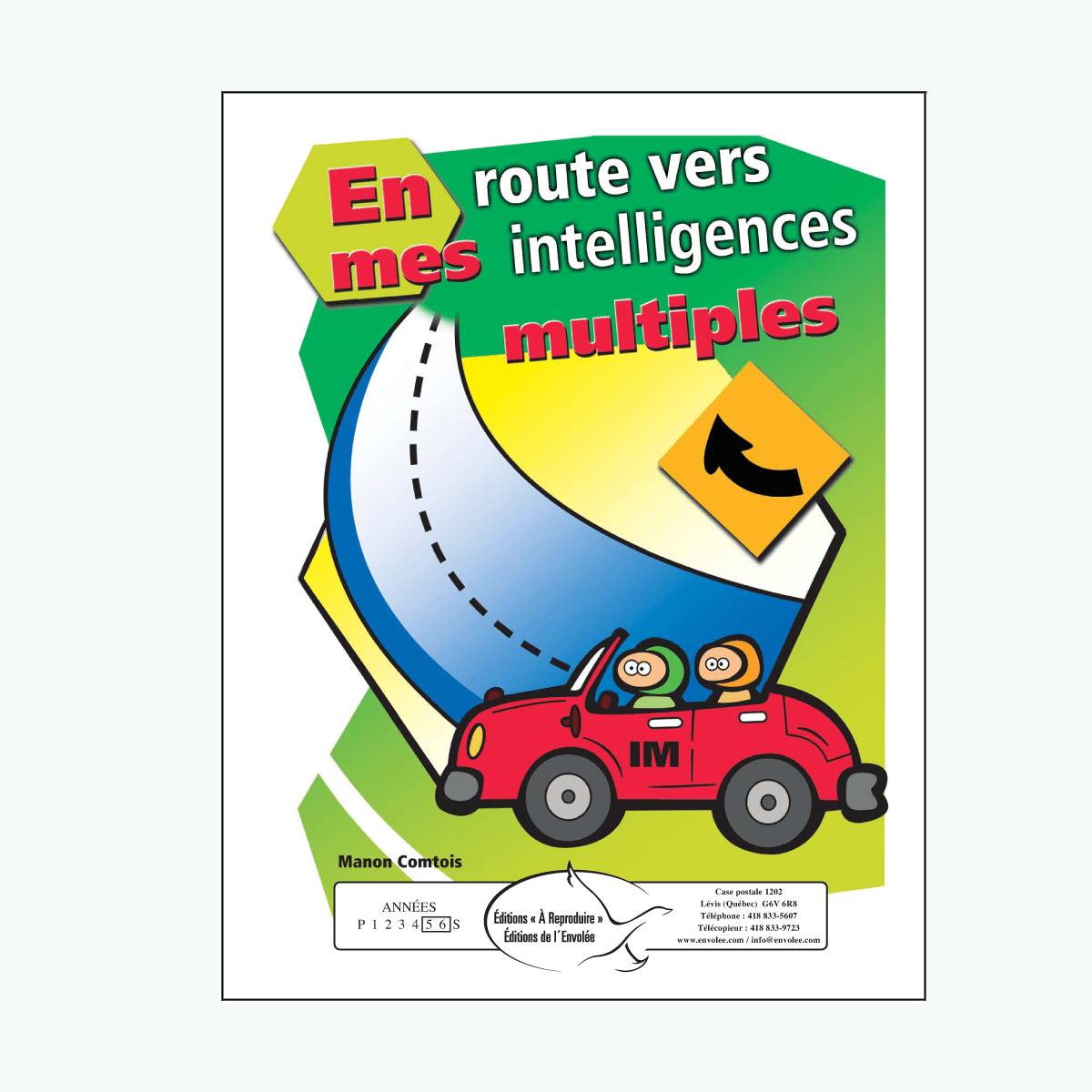 En route vers mes intelligences multiples - en PDF