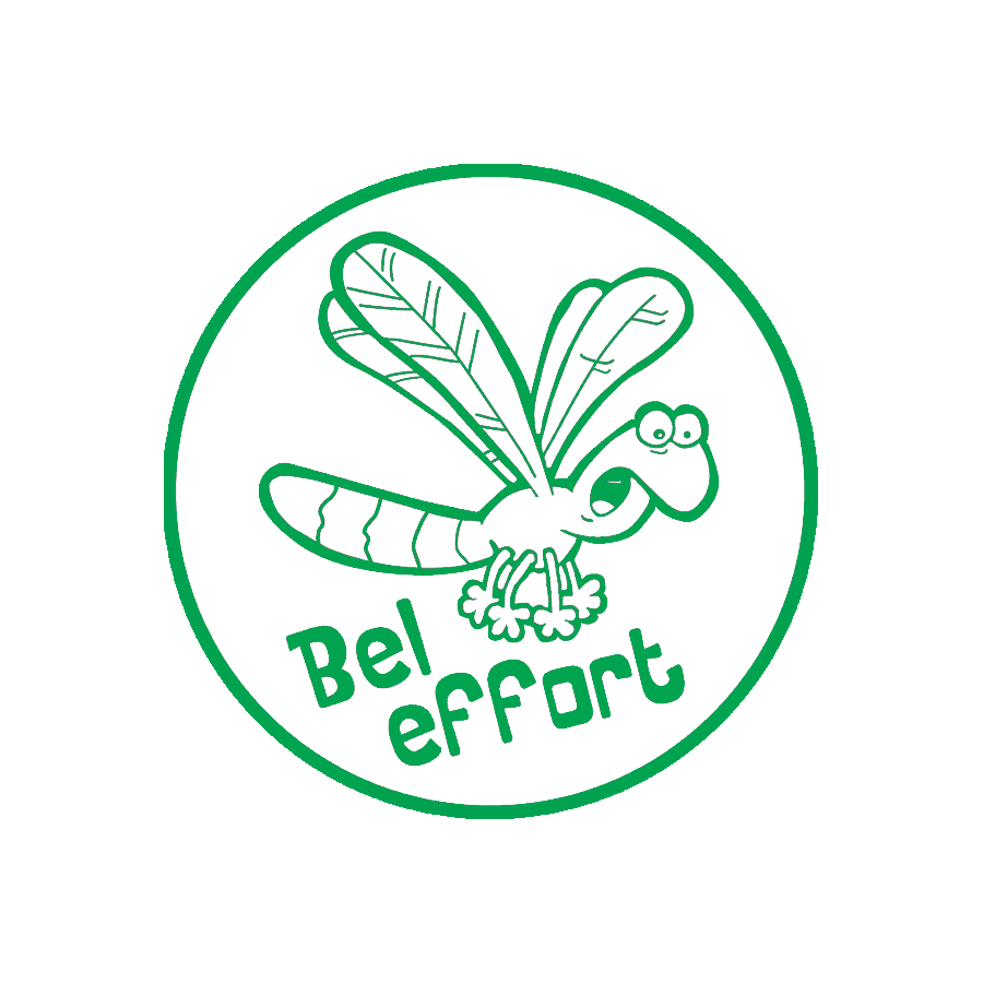 « Bel effort » stamp