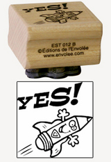 « Yes! » Stamp