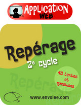 Repérage 2e cycle - Web Application