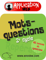 Mots-questions 2e cycle - Web App.
