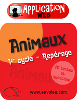 Animaux : Repérage 1er cycle - Web Application