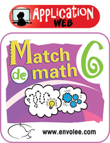 Match de math 6 - Web Application