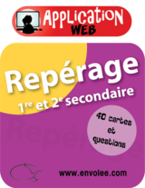 Repérage 1er et 2e secondaire - Web Application