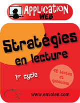 Stratégies en lecture 1er cycle - Web Application