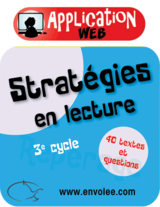 Stratégies en lecture 3e cycle - Web Application