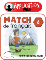 Match de français 6 - Web Application