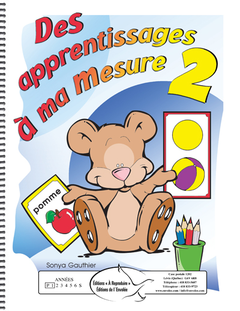 Des apprentissages à ma mesure 2