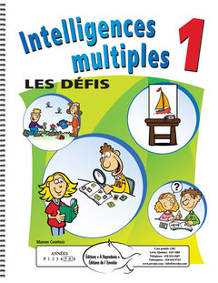 Intelligences multiples - Les défis 1