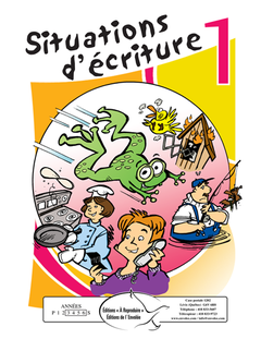 Situations d'écriture 1 - en PDF