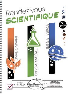 Rendez-vous scientifique 3e cycle
