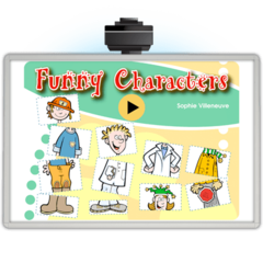 Funny Characters - Application TNI