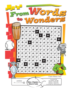From Words to Wonders - en PDF
