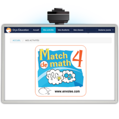 Match de math 4 - Web Application
