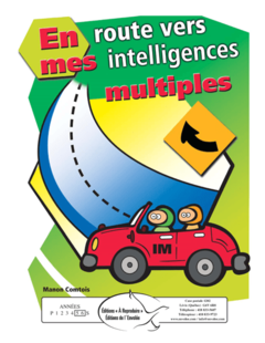 En route vers mes intelligences multiples
