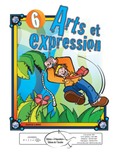 Arts et expression 6 - en PDF