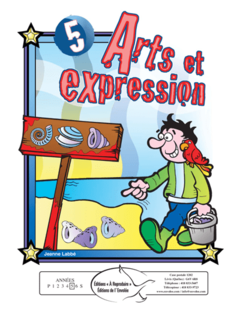 Arts et expression 5 - en PDF