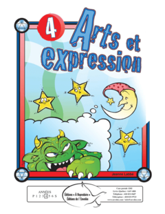 Arts et expression 4 - en PDF