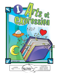 Arts et expression 1 - en PDF
