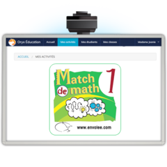 Match de math 1 - Web Application