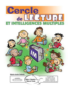 Cercle de lecture et intelligences multiples