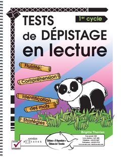 Tests de dépistage en lecture 1er cycle