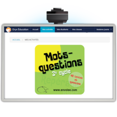 Mots-questions 2e cycle - App. Web