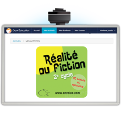 Réalité ou fiction 2e cycle - Web Application
