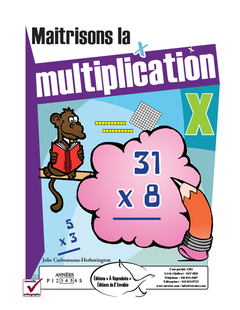 Maitrisons la multiplication