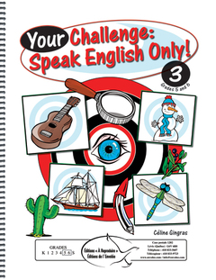 Your Challenge: Speak English Only! 3