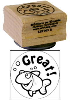 « Great! » Stamp
