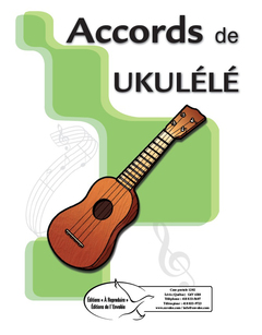 Accords de ukulélé - en PDF