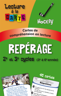 Lecture à  la carte - Repérage Hockey (tx.)