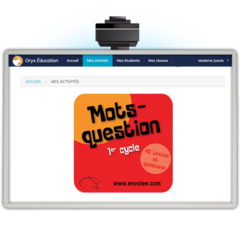 Mots-questions 1er cycle – Web App