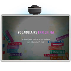 Vocabulaire enrichi 6A - Application TNI (tx.)